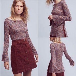 Akemi + Kin Zale Bell Sleeve Sweater Anthropologie